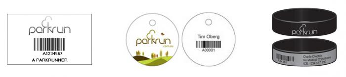 parkrun example barcode timing setup