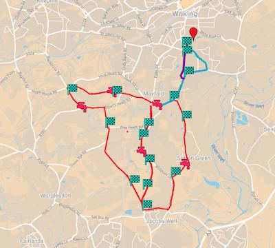 Google My Maps mapping tool screenshot