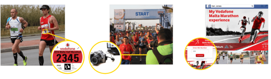 how Pic2Go race photo sharing works