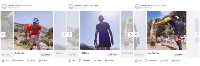 facebook ad carousel mockup