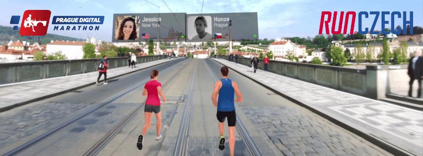 Virtual races - Prague Digital Marathon