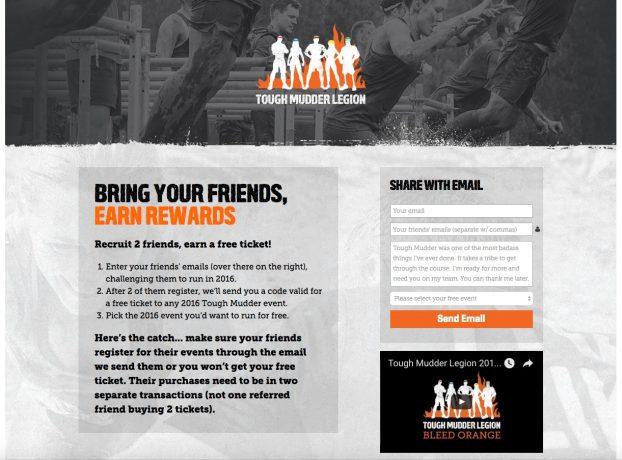 Race referral program