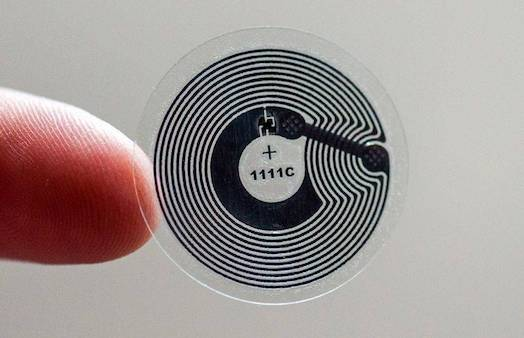 NFC tag for race timing