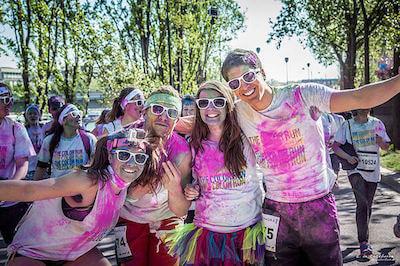 organize a color run