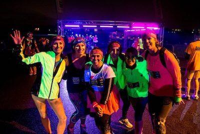 organize a night run