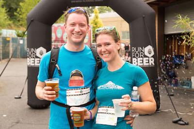 organize a beer run